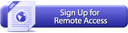 Sign Up For Remote Access