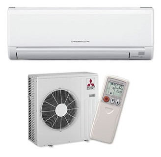 Mitsubishi Ductless Mini-Split System
